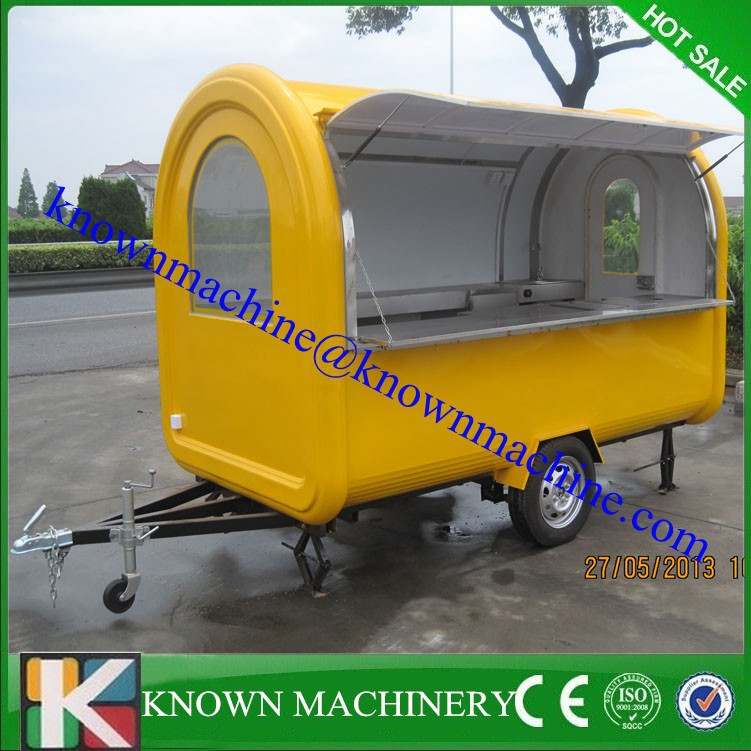 Hot Sale In America Outdoor Food Cartmobile Vending Cycle Cart And Trolley