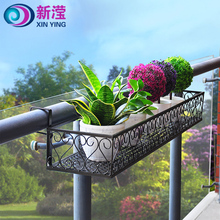 Light Weight indoor wrought iron plant stand garden wall decoration hanging wrought iron plant stand