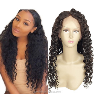 wholesale market dubai virgin brazilian human hair full lace wig drop shipping natural girls hair wig cash on delivery