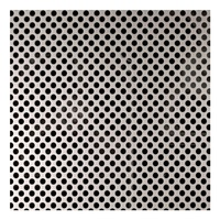 Stainless steel 304 316 micron round hole perforated metal sheet