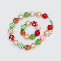 American Wholesale Fashion Baby Necklace And Bracelet set