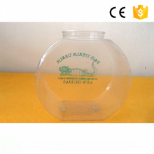 Hoge Kwaliteit Desktop mini fish jar 4.5L <span class=keywords><strong>moderne</strong></span> plastic vis aquarium