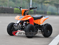short delivery time! cheap price quad bikes/kids gas powered atv 49cc with CE Approval