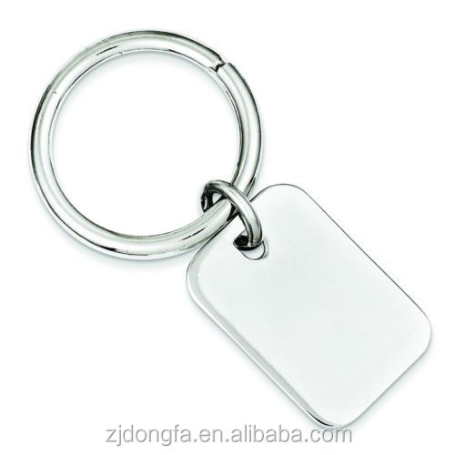 Factory Price Custom Metal Keychains Engraveable Plain Design Kley Chain  Rectangular Disc Keychain - Buy Rectangular Disc Keychain,Metal Shaped Key