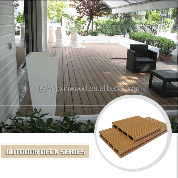 Plastic Wpc Patio Floor Coverings