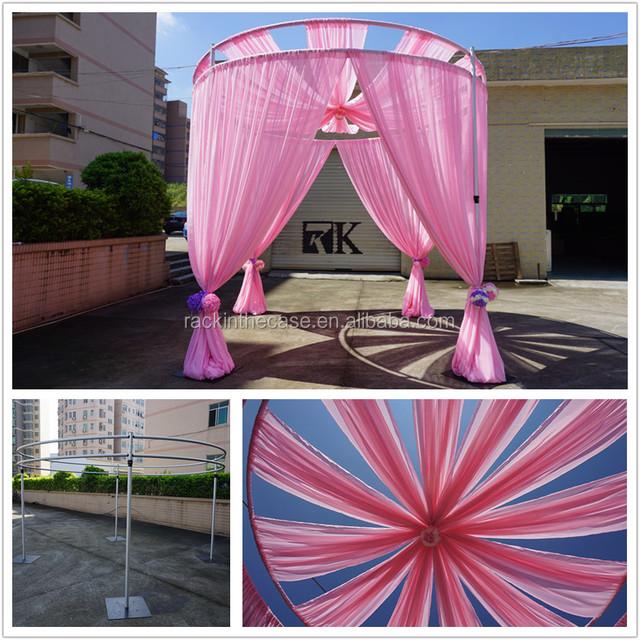 On Sale Used Event Backdrop Stand Wedding Mandap Pillar Decoration