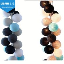 LED Cotton String Light Mini Ball For Christmas Indoor string lights