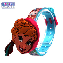 3D Changeable Flip Top Digital Watch