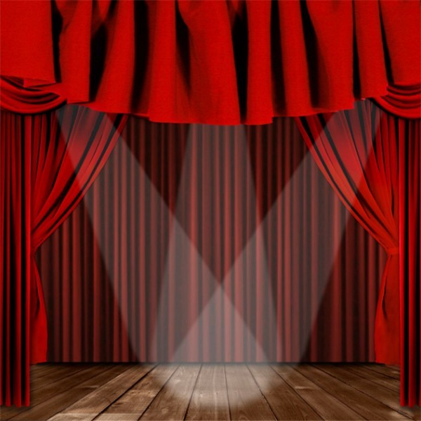 Electric Stage Curtain Velvet Fabric Many Colors Stage
