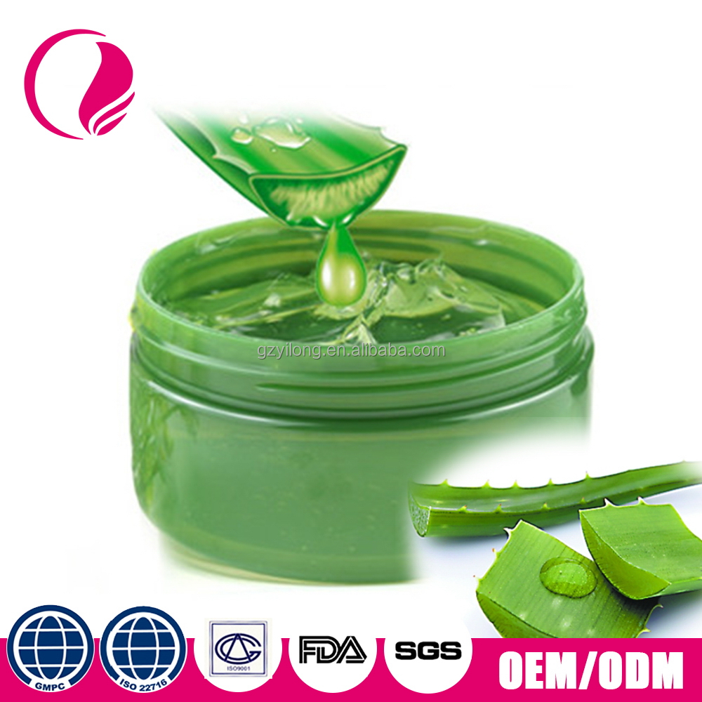 Private label organico benefici 100% puro gel di aloe vera
