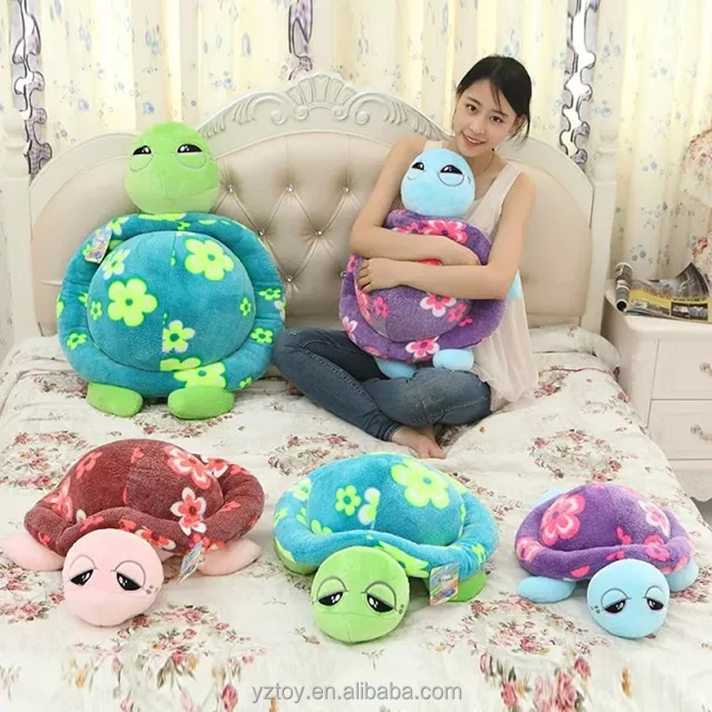 Small tortoise doll, super adorable color turtle, plush toys, pillows, cushions, Home Furnishing ornaments.