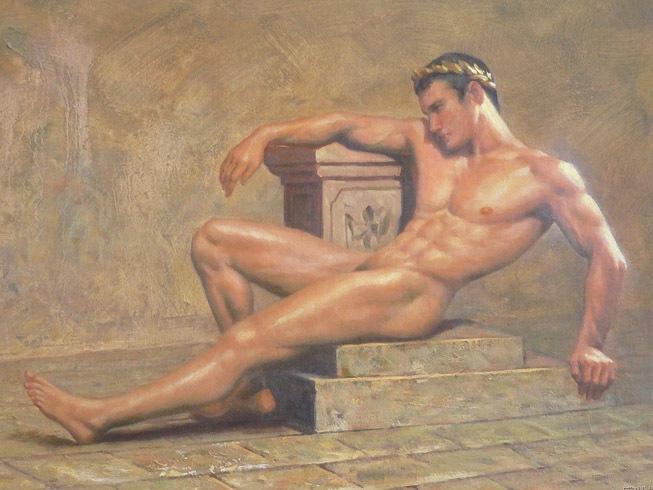 Nude Men In Art 15