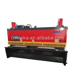 Hot new products swing beam types of shearing machine