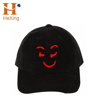 (Maqueta imagen) 2017 encargo 6 paneles estructurados CAPS Soft PANA gorra  de béisbol negro 38ba7977f21