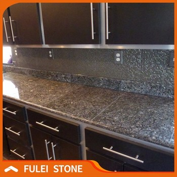 Norway Blue Pearl Granite Kitchen Mosaic Tiles For Countertop