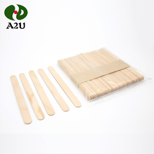 Disposable Round 93MM Wooden Popsicle Sticks Ice Cream Sticks