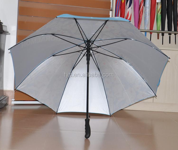 Straight UV Protection Umbrella With Heat Transfer Printing