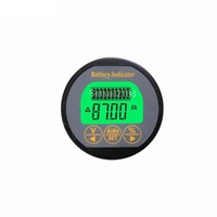 TR16 Battery coulomb meter Coulometer Digital LiFePo4 Lead Acid NiMH Lithium Battery Capacity tester 1-600AH 8-80V