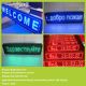 advertising commercial sign board 10mm led display panel p6 decorative mesh screen light