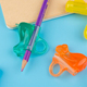 Wholesale Writing Pencil Grips silicone rubber pen grip for Kids