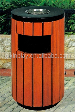 luxury wood decorative outdoor hanging trash can qx 149h buy trash can outdoor hanging trash. Black Bedroom Furniture Sets. Home Design Ideas