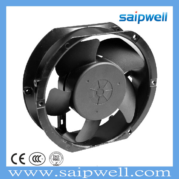 SAIP/SAIPWELL Hot Sales Cooling System Oil Bearing Axial Flow Fans Ac Motor External Cooling Fan