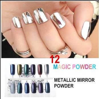 Metallic Nail Varnish Powder