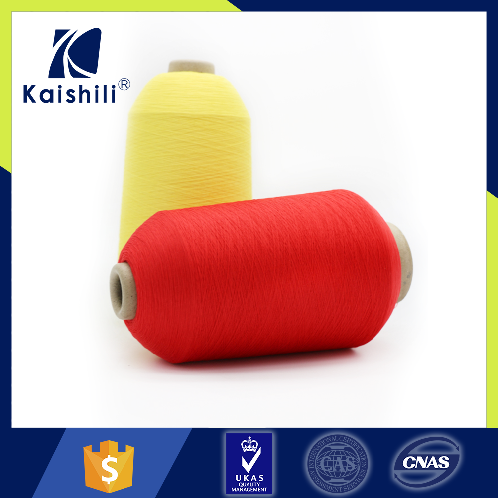 For knitting and weaving high tenacity polyester dty filament yarn