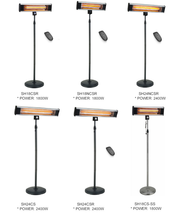 High品質 & Best Price Scientec With Remote Control Winter Outdoor Stand Patio Electric Heater
