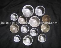 Clear Crystal Quartz Spheres & Balls A grade
