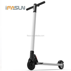 Good Quality Foldable Electric Scooter Parts Fat Tire 2000W Korea Self Balancing Carbon Fiber Electric Motorcycle Scooter