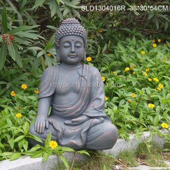 Garden Sculpture Lotus Buddha Statue