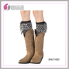 Promotional fashional women tassel leg warmers boot cuffs