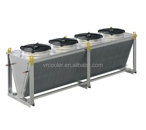 New design V-type dry cooler for the cooling of processing liquids