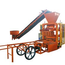 Qt4-26 Road Brick Block Making Machine Paving Machinery Molding Equipment