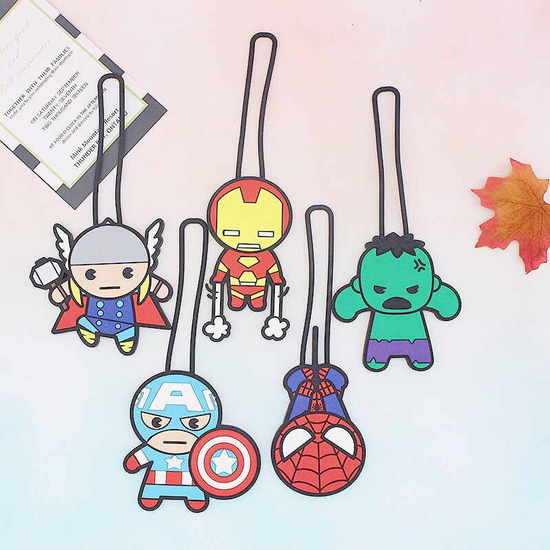 OEM Silicon luggage tag, Cartoon luggage tag with custom package in high quality