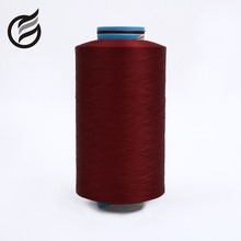 most popular china supplier 200D/72F high stretch dty polyester yarn