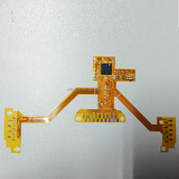 For ps4 Wireless Controller For PS4 Slim Yellow PCB Rapid Fire Mod