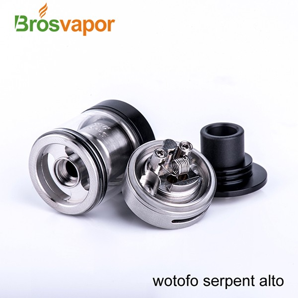 100% Authentic Wotofo Serpent Alto RTA Tank with 2.5ml Wholesale