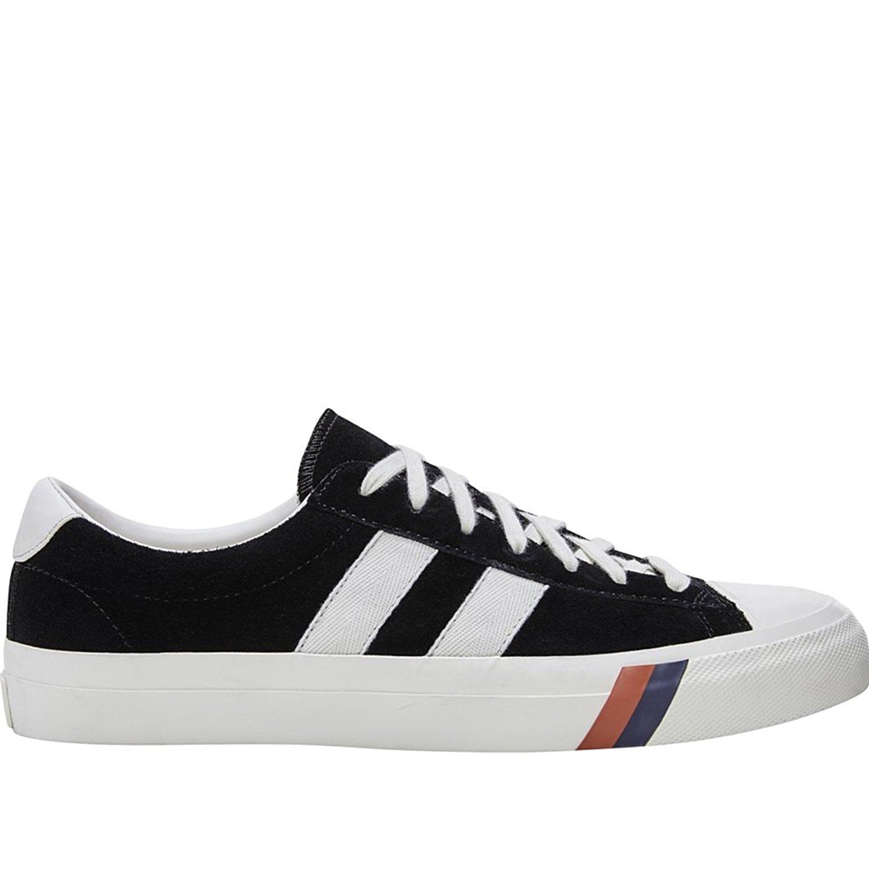 638b2ce7bdb Get Quotations · Keds Men s Pro-Keds Royal Plus Suede Black Athletic Shoe