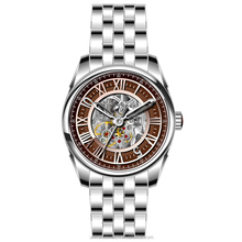 All 316L stainless steel luxury mens watch automatic skeleton in mechanical movement U2671-02