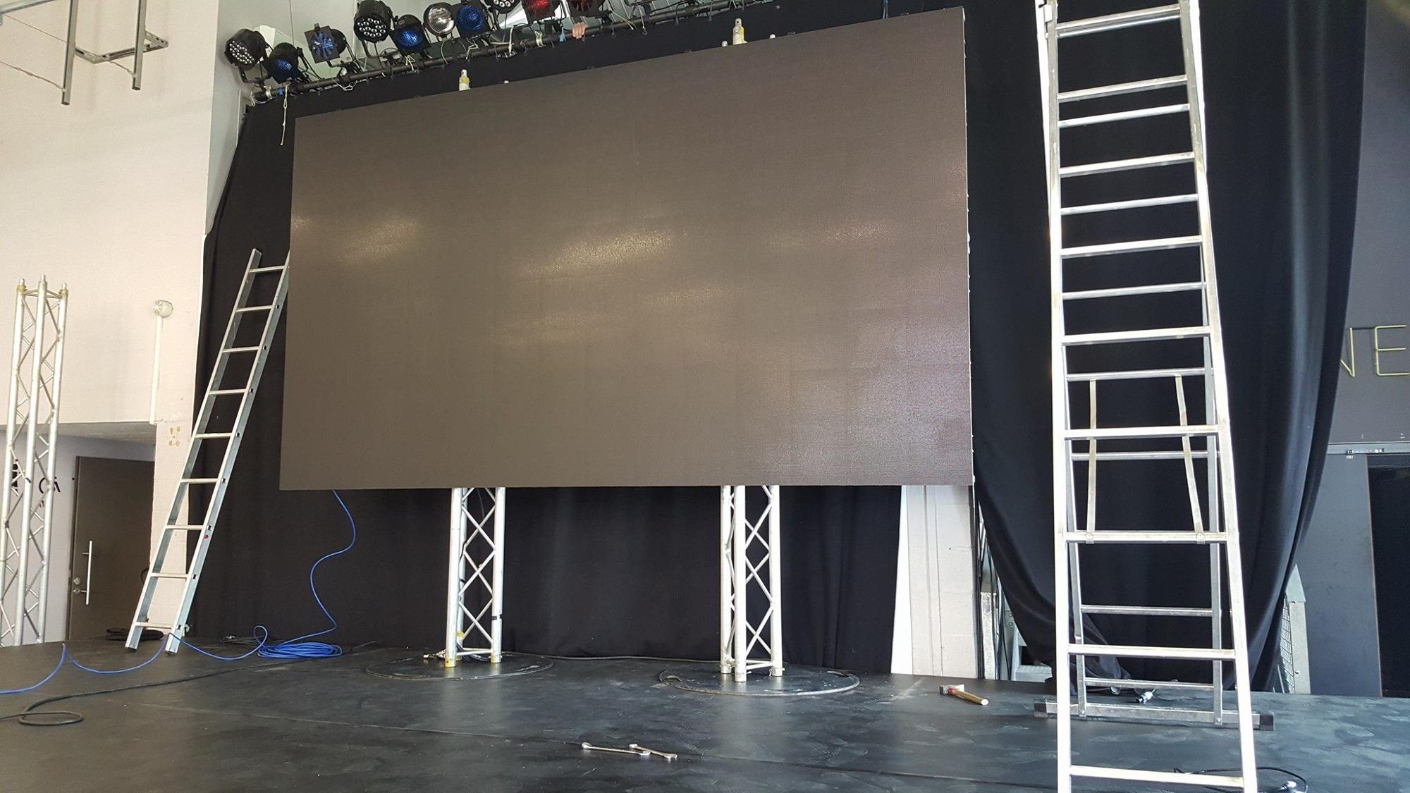 Shenzhen Cheap Auditorium Modular P4 Indoor Led Display Screen With Hdmi
