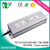 45W led waterproof switch ip67 led driver led light power supply