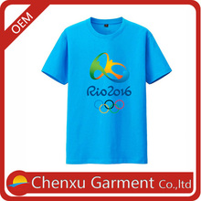 Vêtements usines en chine d'importation vêtements thaïlande articles promotionnels pour 2016 blanc t shirt