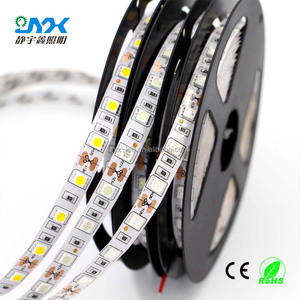 super bright led strip lights12 volt 5050 60led small led strip double pcb 3 chip 14.4w/m ip20 flexible led strip channel letter