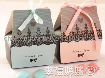 Light Green Ribbon Wedding Favor Bridal Candy Gift Box Baby Shower Party Cut Out Pram Packing Box For Small Small Glass Bottle Buy Cherry Packing