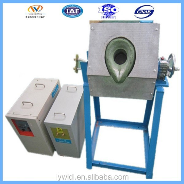 Small gold induction furnace machine tools gold refining machine