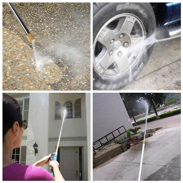 Home Applicance Powerful Water zoom High Pressure Ultrasonic Cleaner Long Jet For Automobile