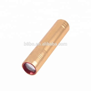 Pen Lights Portable Mini LED Flashlight Torch Flash Light Work Hunting Lamp Aluminum Alloy use AAA Battery