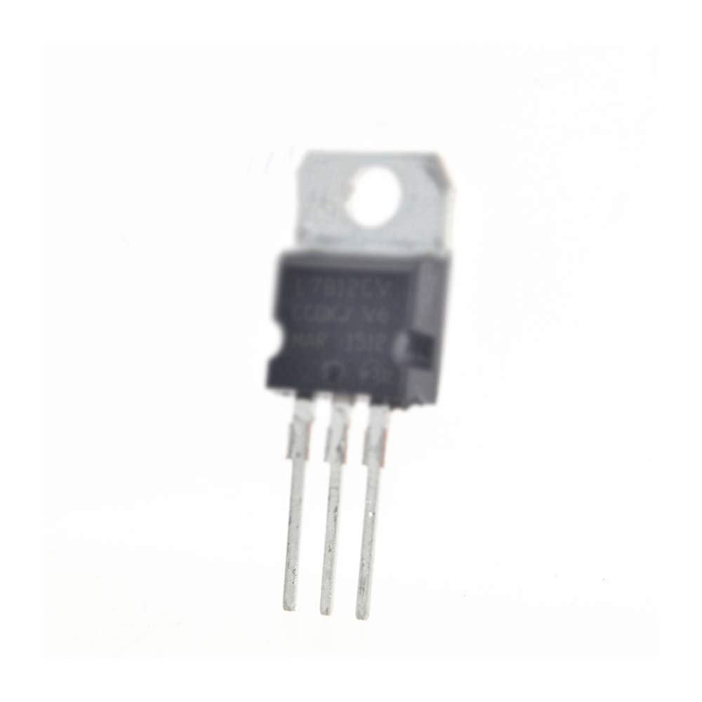 50PCS L7812CV L7812 LM7812 TO-220 1.5A 100/% original ST